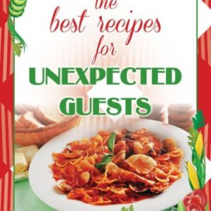 Best Recipes for Unexpected Guests BookKASE™ Model SM